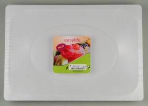 Easylife R332325 (33x23cm) Plaque carrée blanc PS
