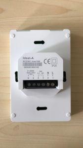 熱い販売のNtcセンサーが付いている発熱体のためのスマートなデジタルタッチ画面部屋のサーモスタット