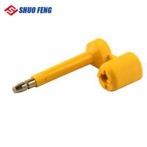 Boulon de haute barrière de sécurité contenant un joint de verrouillage avec la norme ISO17712