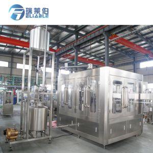 Warmeinfüllen-automatische Saft-Getränkefüllmaschine für Haustier-Flaschen