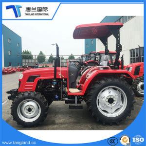 50HP 4WD 매체 또는 Traktar 또는 잔디밭 또는 정원 또는 바퀴 또는 Agri 또는 농장 트랙터