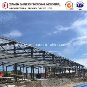 Estructura de acero de metal para la construcción de trama