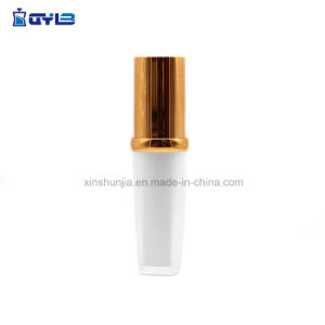 De façon populaire de luxe de l'or des bouteilles en plastique UV Cosmetic Packaging