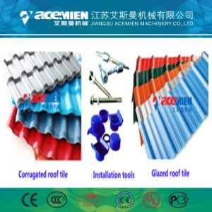 Tuile de coloré de la machine en PVC