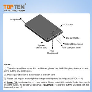 Sos 경보 음성 채트 (PT99-JU)를 가진 긴 대역 GPS/GSM 개인 자산 추적자