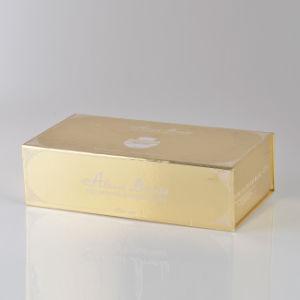 금 서류상 호화스러운 자석 선물 상자/Foldable 선물 상자