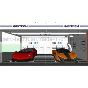 La norma europea CE Infitech Car Auto Prep Bay/Prep/Sala de la estación de preparación y cabina de pintura en spray