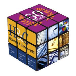 3 door de Promotie Afgedrukte Magische Kubus van Foto 3 met Uw Embleem