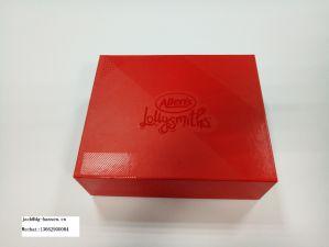 High-End die het Opvouwbare Verpakkende Vakje van het Document van de Gift van de Chocolade of van de Wijn afdrukken