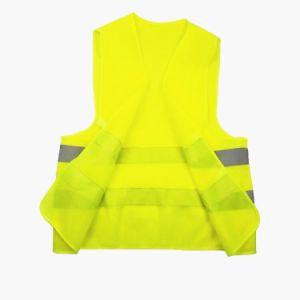 Оптовая торговля дешевые трикотажные ткани отражатель светоотражающие Майка безопасности