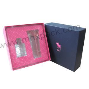 Het concurrerende Verpakkende Vakje van de Gift van het Document van het Deksel en van de Basis Kosmetische