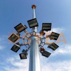 Osyea 20m/25m/30m/35m/40m de acero galvanizado en caliente/cónico de planta octogonal del mástil e iluminación de alta luz polo