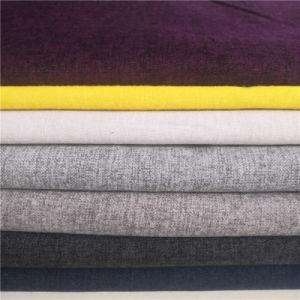La tapicería textil de poliéster Inicio mobiliario Sábana Sofá tela tejida