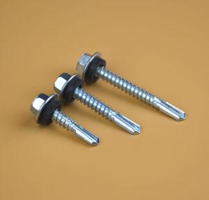 Auto Drilling aparafusar o parafuso bimetálica/Parafuso de revestimentos betumados /Parafuso Autoatarraxante Bulidex