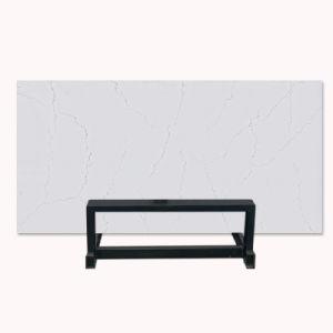 Nuevo diseño Calacatta losa de piedra de cuarzo para la cocina Mostrador o vanidad Top
