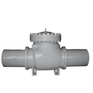 Soldadura de alta presión extendido la válvula de retención establecido