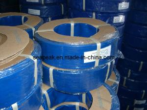 Manguera REFORZADA Fibra del PVC de Cables Perfil Plano