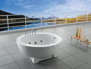 Vasca Da Bagno In Lamiera Zincata : Vasca da bagno esterna rotonda ba m220 di massaggio della jacuzzi