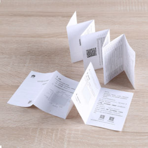 El color de impresión Offset Poster/Folleto/Arte Impresión de folleto de servicios de impresión de papel