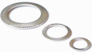 En acier inoxydable de la rondelle de verrouillage de sécurité striée (DIN9250)