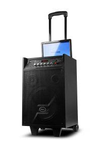 Laufkatze-Lautsprecher drahtloser HandMic 8 und 10 Zoll Zoll-Bildschirm-