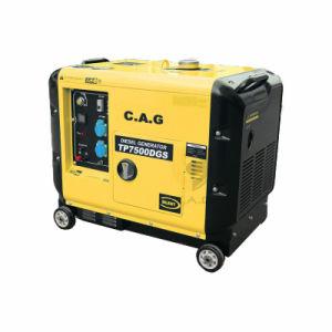 super leiser beweglicher Dieselgenerator 5.0kw/6.0kw/7.0kw