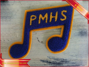 Chenille Patch Clothing Iron su Chenille Fabric Patch