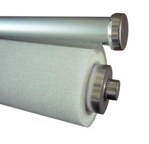 De horizontale Witte Zonneblinden van de Schaduwen van de Rol van de Stof Blinde, Waterdichte Binnen (DC#1202)