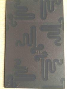 5mm Couleur miroir à motifs de verre/miroir à motifs de couleur