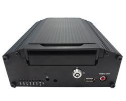 Digital Video Recording System 8 Channel Mobile DVR mit GPS, 3G, WiFi