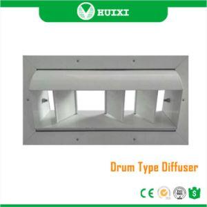 Klimaanlage HVAC-trommelartiger Luft-Luftauslass-Aluminiumdiffuser (Zerstäuber)