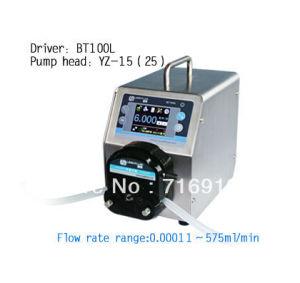 Bt100L Yz15 Pump Head Intelligent Peristaltic Dosing Pump Precise Adjustable Flow Control Lab Liquid Pumps
