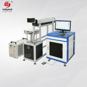 30W 60W 70W 100W prix bon marché Flying 3D GRAVURE LASER CO2 dynamique Machine de marquage pour le verre acrylique Bois Plastique non métalliques des chaussures