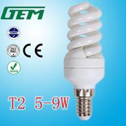 Energie van T2 van China de Volledige Spiraalvormige - het Licht van de besparing voor het Hete Verkopen