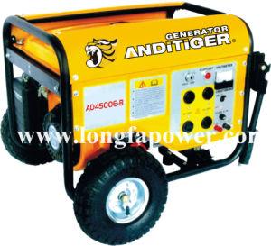 5kw de potencia fuerte generador de gasolina con ruedas y asas, CE&Soncap