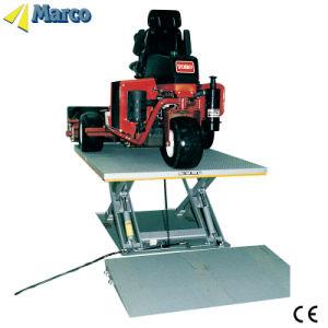 8-10 Ton Marco doca de carga elevador de tesoura tabelas com aprovado pela CE