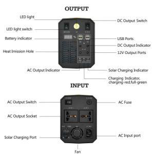 Solar Energy UPS車のホーム携帯用移動式パワー系統ACのDC入力および出力