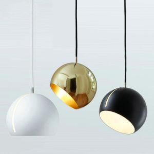 Oro/Black Metal moderno Cocina decorativa lámpara colgante colgante para el Comedor/restaurante