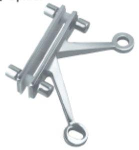 Encaixe da aranha do aço inoxidável (FS-2613)