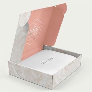 Logotipo personalizado mayorista Postal rígido Mailer ropa Caja de regalo cosmética de la zapata de embalaje de cartón grueso Gastos de envío Gastos de envío de correo de Cartón Ondulado caja de embalaje de papel