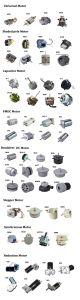 12/24V DC Motor Self-Balanced carros para la movilidad/ Vehículo/Unidades de disco duro de Spin