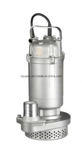 0.75HP 잠수할 수 있는 수도 펌프 스테인리스 Qdx3-20-0.55fa