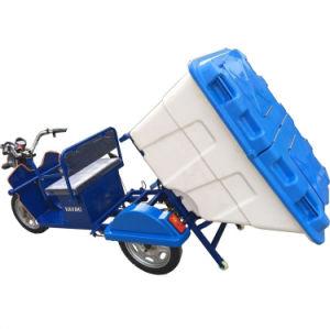 Energía verde La limpieza de basura triciclo eléctrico