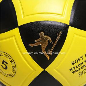 Diverses tailles PRO Formateur de football en cuir synthétique