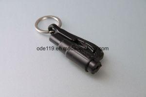 Mini Coche de seguridad de emergencia automática de martillo de herramienta de emergencia con llavero