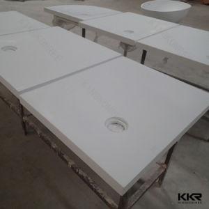 Kingkonree Pierre artificielle Surface solide bac à douche