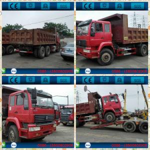 Camión volquete HOWO utilizados para la venta al por mayor
