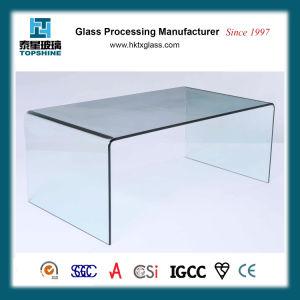 Flexão quente temperado curvo de Vidro para mobiliário de cadeira de mesa
