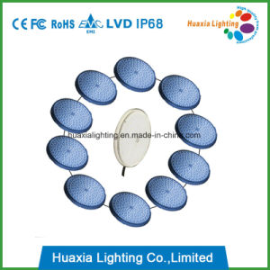 Resina epóxi impermeável IP68 preenchidos luzes LED subaquático montada na parede