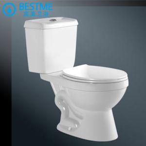 Diseño clásico Venta caliente baño dos piezas de porcelana